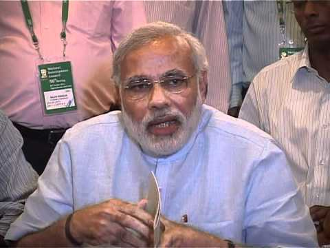 Shri Narendra Modi speaks at the National Developmet Council, Delhi