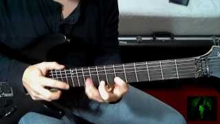 Angra / Kiko Loureiro - Evil Warning Solo - Guitar Cover by Juan Tobar