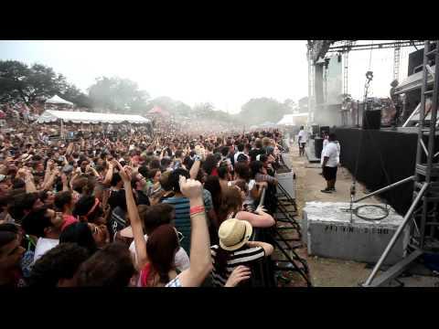 Free Press Summerfest Crowd during Cut Copy - Houston, TX