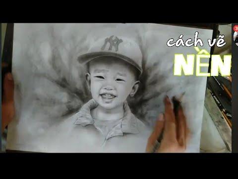 Cách vẽ NỀN sao cho đẹp_MẸO Vẽ Chân Dung [Nghệ Thuật ART]