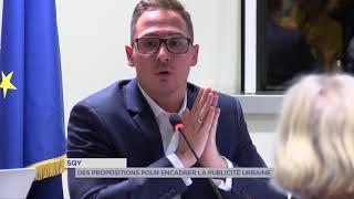 SQY : Des propositions pour encadrer la publicité urbaine
