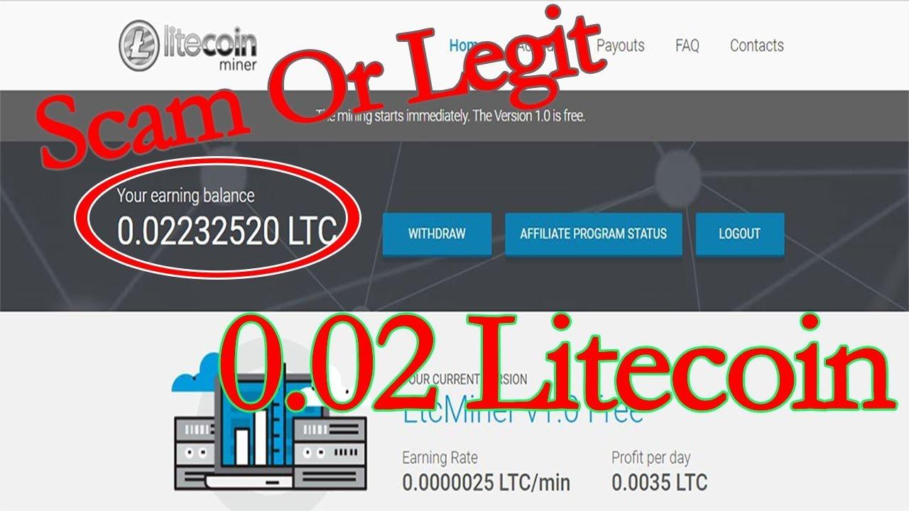 Dapat 0.02 Litecoin dari dari Aplikasi Gratisan | Review Litecoin Miner