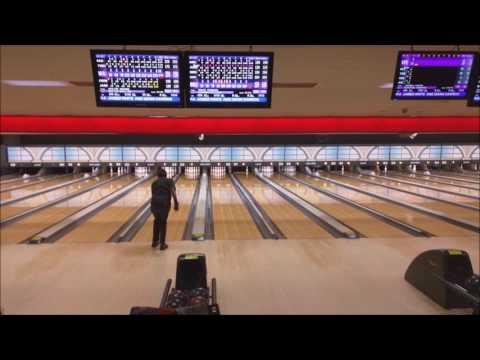 Walter Brown final shot for a 300 game