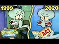 - SQUIDWARD Being a Terrible Employee for 20 Years ⏰  SpongeBob
