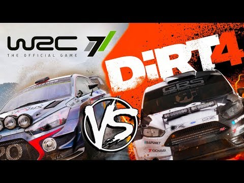 Which Is Better? | Dirt 4 Vs WRC 7