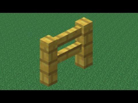 Как крафтится забор