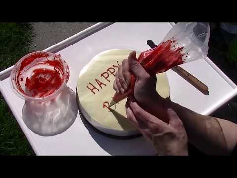 Tips and Tricks for Writing on Cakes Pt. 2