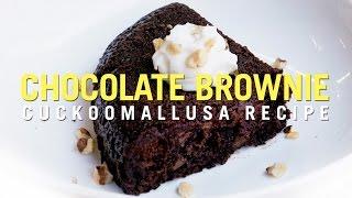 Cuckoo Rice Cooker Recipe: Chocolate Brownie