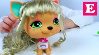 Делаем причёску собачке с набора I love vip pets | распаковка и обзор игрушек. видео для девочек