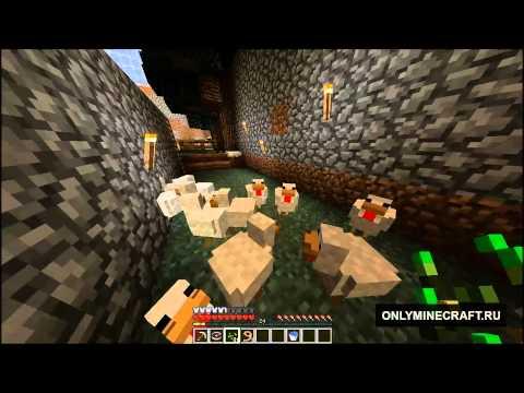 Как разводить куриц в minecraft