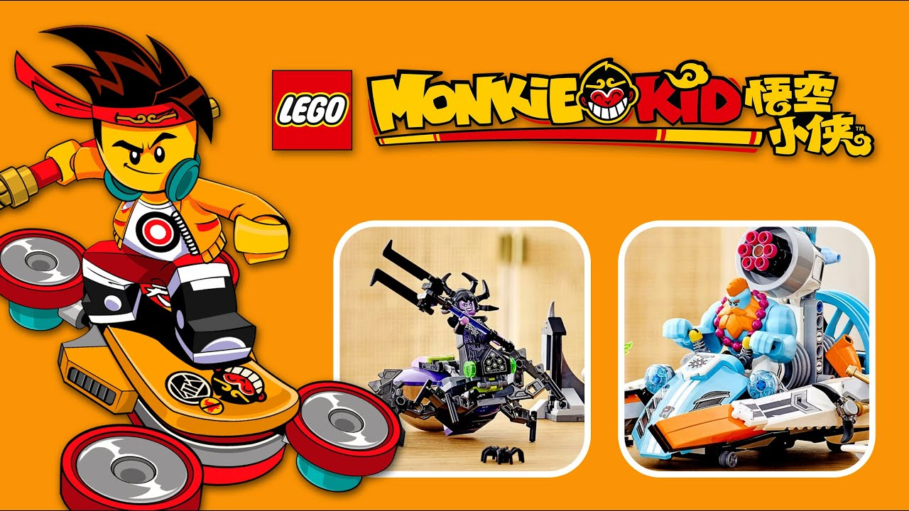 ¡Nuevos sets de LEGO Monkey Kid! | Agosto 2020
