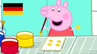 Peppa Wutz | Malerei - Zusammenschnitt | Peppa Pig Deutsch Neue Folgen | Cartoons für Kinder