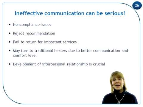 Role Of Communication In Health Care