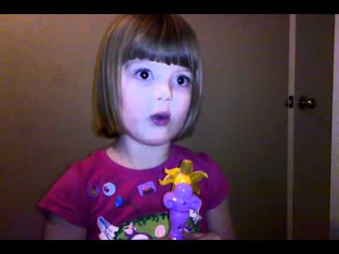 Leila singing the flower song from Tangled