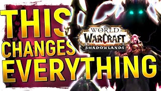 HER Power REVEALED! Shadowlands SHAKES UP WoW Lore: The Aribter, Jailer, New Reveals & MORE!