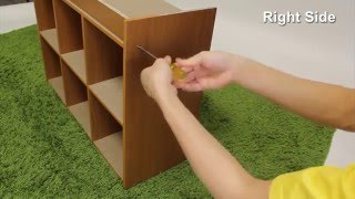 How to Assemble Furinno 99940 Bookcase Storage