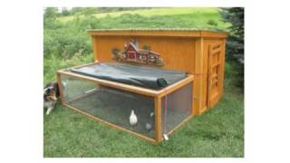 Easy Diy Chicken Coop Plans - How To Build Large Chicken Coop