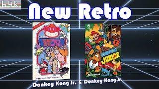 New Retro #6 (Donkey Kong Jr (Arcade) & Donkey Kong Jr (C64) )