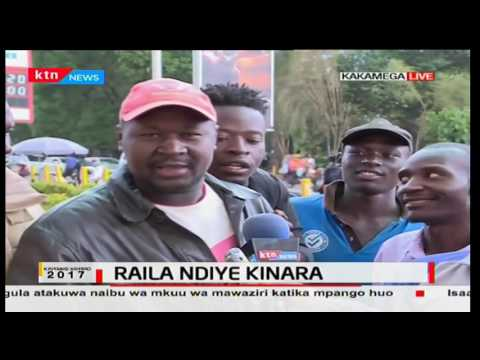 Kenyans react to Raila Odinga being named NASA flag bearer