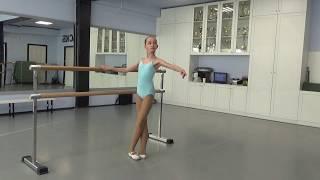 01.05.19. Tver Youth Ballet Академия СК Балета. Урок балета начинающие- фрагмент