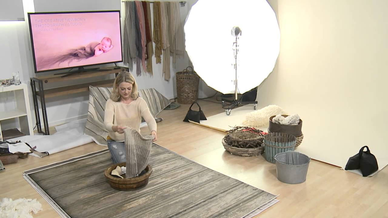 The creative newborn photography studio with julia kelleher youtube