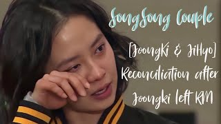 🎉 SongSong couple [Ji hyo & Joong ki] RECONCILIATION after joong ki left RM thumbnail