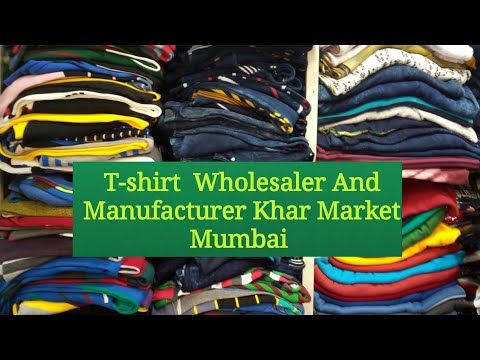 T-shirts Wholesaler Old Khar Market Mumbai | Wholesalers & Manufacturer Shops |Hindi |Mahipal Rajput
