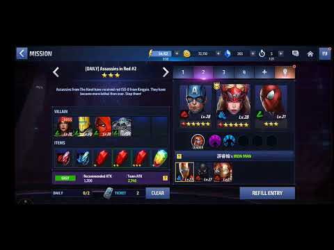 Marvel Future Fight - 3D mobile gaming - Preview