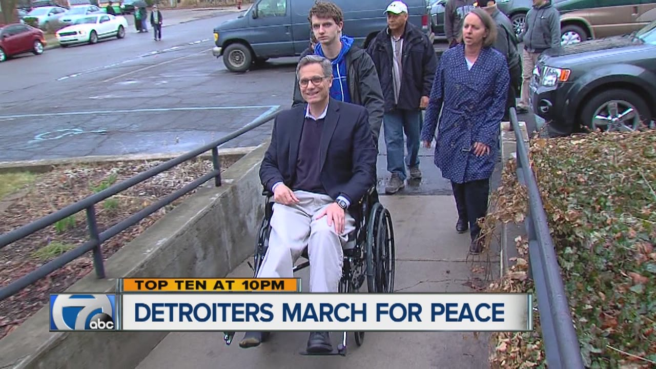 Detroiters march for peace - YouTubeMarch For Peace