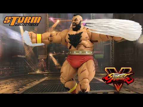 【HG玩具開箱】STORM-STREET FIGHTER V ZANGIEF