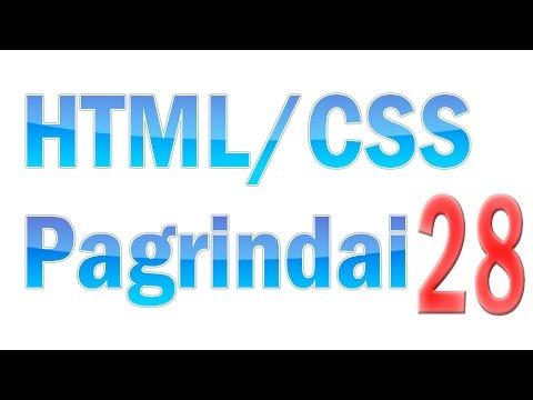 HTML/CSS Pagrindai #28 - CSS3 Animacijos (animations)