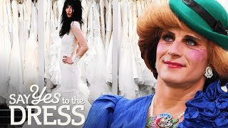Drag Queens Pick a Princess Diana Inspired Dress | Say Yes To The Dress UK