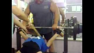 Марьяна Наумова, тяжелая тренировка 30.09.2012