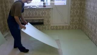Укладка подложки и ламината(, 2011-03-05T17:02:03.000Z)