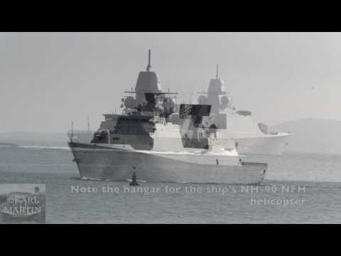 Netherlands' mighty Tromp and De Ruyter frigates