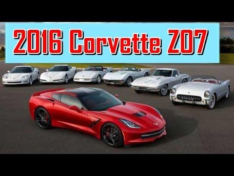 2016 Corvette Z07 >> 2016 Corvette Z07 Redesign Interior and Exterior - YouTube