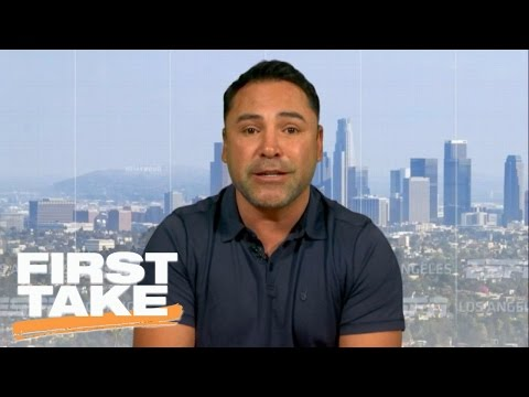 Oscar De La Hoya Says Canelo-GGG Will Be 'Biggest Fight Ever'   First Take   May 9, 2017