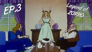 Легенда о Зорро серия ep. 3 | Legend of Zorro | целый мультфильм для ребенка на русском языке | RU