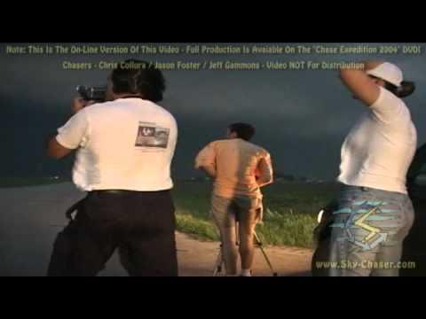 Storm Chase 2004 - Violent Tornado In SE Nebraska (May 22, 2004)
