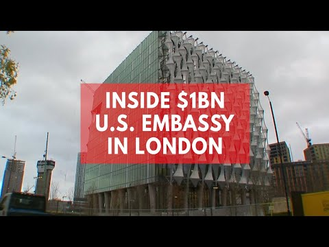 Inside the most expensive embassy ever constructed