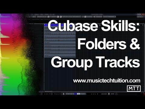 Cubase Skills: Folders And Group Tracks