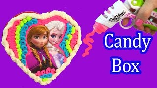 Playdoh DohVinci DIY Disney Frozen Chocolate Candy Box Valentines Day Holiday Toy Play Doh Vinci
