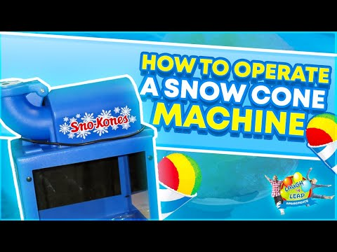 Merveilleux How To Operate A Snow Cone Machine   Gold Medal Sno King Sno Kone 1888 Ice  Shaver