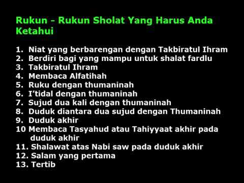 tata cara sholat Taubat - YouTube