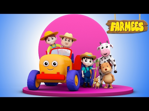 Farmer In The Dell | Nursery Rhymes | Children Songs | Baby Rhymes | Kids Videos by Farmees S02E27