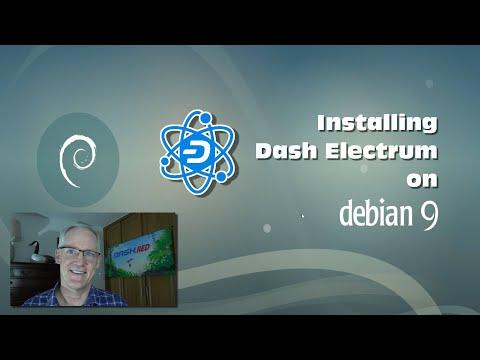 Dash Digital Cash - Install Dash Electrum Wallet On Debian 9