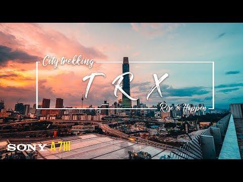 Tunku Razak Exchange | Cinematic Vlog | Malaysia tallest building | KL | City trekking | Roy wong