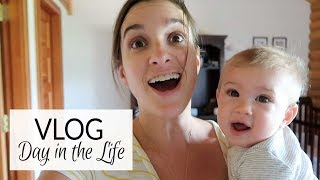 Vlog | Day in the Life with a 6 Month Old