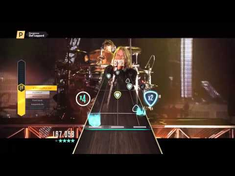 """DEF LEPPARD - """"Dangerous"""" (Guitar Hero Live Gameplay)"""
