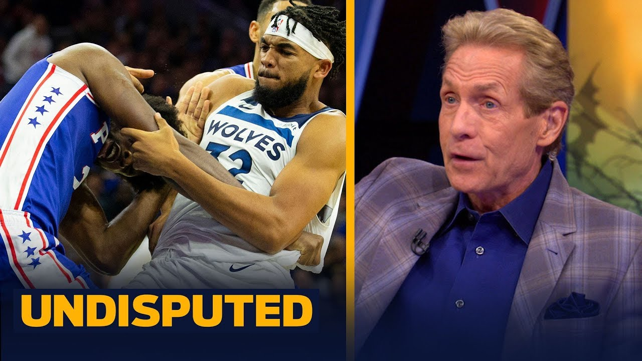 Download Skip Bayless reacts to Joel Embiid brawling with Karl-Anthony Towns last night | NBA | UNDISPUTED